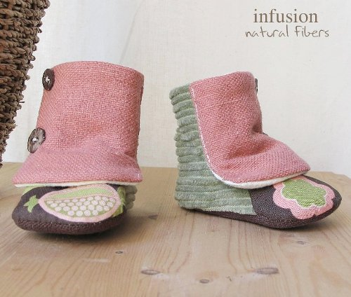 Organic Baby Boot for Girls