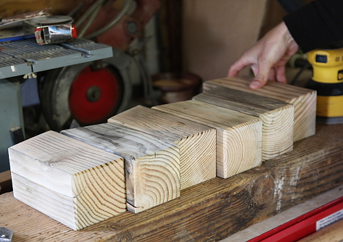We Have An Endless Supply Of Scrap Wood From Our Various Home Projects And Are Always Looking For Functional Ways To Use It Up Cleaned Some Sections